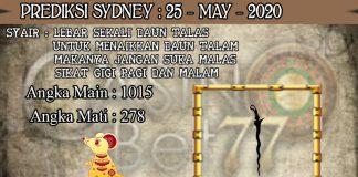 PREDIKSI TOGEL SYDNEY HARI SENIN 25 MAY 2020