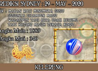 PREDIKSI TOGEL SYDNEY HARI JUMAT 29 MAY 2020