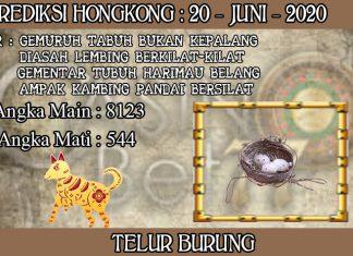 PREDIKSI TOGEL HONGKONG HARI SABTU 20 JUNI 2020