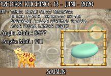 PREDIKSI TOGEL KUCHING HARI SABTU 13 JUNI 2020