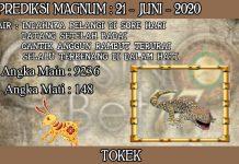 PREDIKSI TOGEL MAGNUM4D HARI MINGGU 21 JUNI 2020
