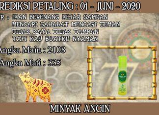 PREDIKSI TOGEL PETALING HARI SENIN 01 JUNI 2020