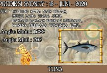 PREDIKSI TOGEL SYDNEY HARI SENIN 15 JUNI 2020