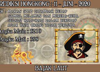 PREDIKSI TOGEL HONGKONG HARI KAMIS 11 JUNI 2020