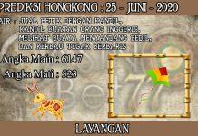 PREDIKSI TOGEL HONGKONG HARI KAMIS 25 JUNI 2020
