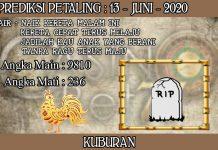 PREDIKSI TOGEL PETALING HARI SABTU 13 JUNI 2020