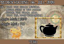 PREDIKSI TOGEL KUCHING HARI SENIN 06 JULI 2020