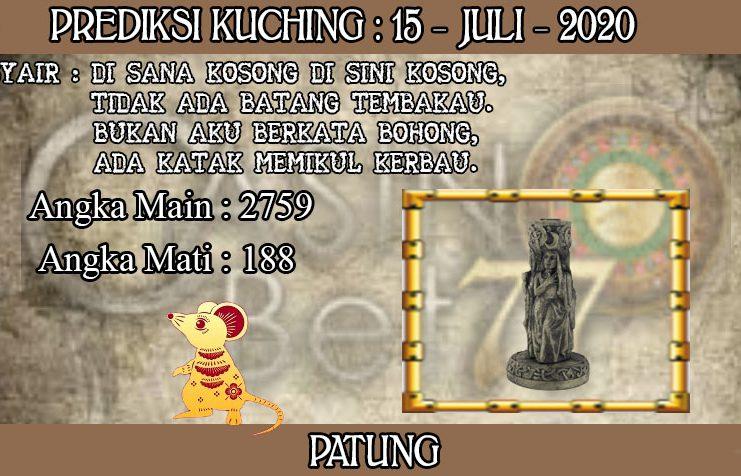 PREDIKSI TOGEL KUCHING HARI RABU 15 JULI 2020