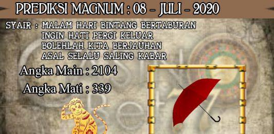 PREDIKSI TOGEL MAGNUM4D HARI RABU 08 JULI 2020