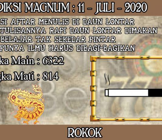 PREDIKSI TOGEL MAGNUM4D HARI SABTU 11 JULI 2020