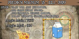 PREDIKSI TOGEL MAGNUM4D HARI RABU 15 JULI 2020