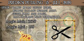 PREDIKSI TOGEL PETALING HARI RABU 15 JULI 2020