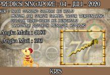 PREDIKSI TOGEL SINGAPORE HARI SABTU 04 JULI 2020