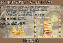 PREDIKSI TOGEL SYDNEY HARI KAMIS 02 JULI 2020