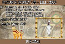 PREDIKSI TOGEL SYDNEY HARI SABTU 25 JULI 2020
