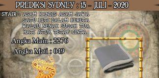 PREDIKSI TOGEL SYDNEY HARI RABU 15 JULI 2020