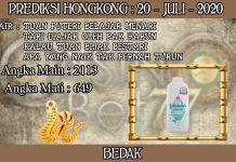 PREDIKSI TOGEL HONGKONG HARI SENIN 20 JUNI 2020