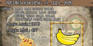 PREDIKSI TOGEL KUCHING HARI SABTU 11 JULI 2020