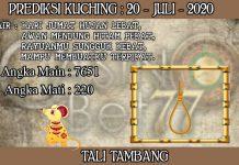 PREDIKSI TOGEL KUCHING HARI SENIN 20 JULI 2020