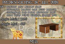 PREDIKSI TOGEL KUCHING HARI MINGGU 26 JULI 2020