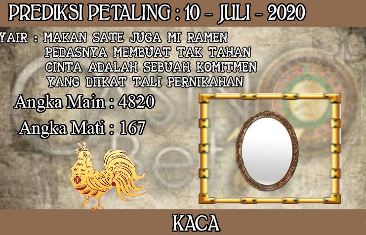 PREDIKSI TOGEL PETALING HARI JUMAT 10 JULI 2020