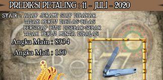 PREDIKSI TOGEL PETALING HARI SABTU 11 JULI 2020