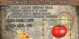 PREDIKSI TOGEL PETALING HARI SELASA 13 JULI 2020
