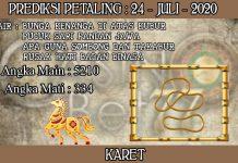 PREDIKSI TOGEL PETALING HARI JUMAT 24 JULI 2020