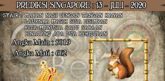 PREDIKSI TOGEL SINGAPORE HARI SENIN 13 JULI 2020