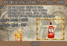 PREDIKSI TOGEL SINGAPORE HARI RABU 22 JULI 2020
