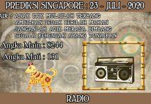 PREDIKSI TOGEL SINGAPORE HARI KAMIS 23 JULI 2020