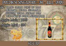PREDIKSI TOGEL SINGAPORE HARI KAMIS 30 JULI 2020