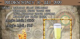 PREDIKSI TOGEL SYDNEY HARI JUMAT 10 JULI 2020