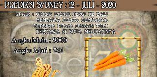 PREDIKSI TOGEL SYDNEY HARI MINGGU 12 JULI 2020