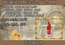 PREDIKSI TOGEL SYDNEY HARI SENIN 13 JULI 2020