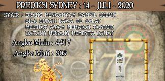 PREDIKSI TOGEL SYDNEY HARI SELASA 14 JULI 2020