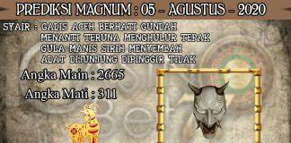 PREDIKSI TOGEL MAGNUM4D HARI RABU 05 AGUSTUS 2020