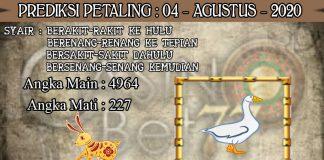PREDIKSI TOGEL PETALING HARI SELASA 04 AGUSTUS 2020