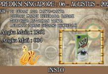 PREDIKSI TOGEL SINGAPORE HARI KAMIS 06 AGUSTUS 2020