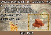 PREDIKSI TOGEL HONGKONG HARI SABTU 01 AGUSTUS 2020
