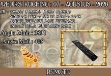 PREDIKSI TOGEL KUCHING HARI JUMAT 07 AGUSTUS 2020