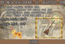 PREDIKSI TOGEL SINGAPORE HARI SABTU 01 AGUSTUS 2020