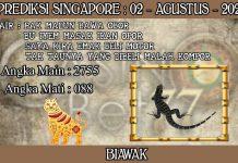 PREDIKSI TOGEL SINGAPORE HARI MINGGU 02 AGUSTUS 2020