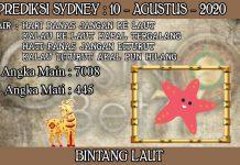 PREDIKSI TOGEL SYDNEY HARI SENIN 10 AGUSTUS 2020