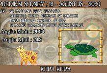 PREDIKSI TOGEL SYDNEY HARI RABU 12 AGUSTUS 2020