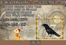 PREDIKSI TOGEL HONGKONG HARI SABTU 12 SEPTEMBER 2020