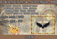 PREDIKSI TOGEL MAGNUM4D HARI MINGGU 06 SEPTEMBER 2020