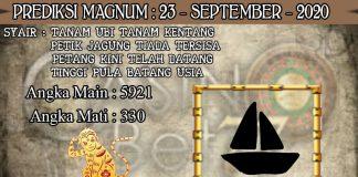 PREDIKSI TOGEL MAGNUM4D HARI RABU 23 SEPTEMBER 2020