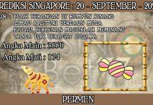 PREDIKSI TOGEL SINGAPORE HARI MINGGU 20 SEPTEMBER 2020