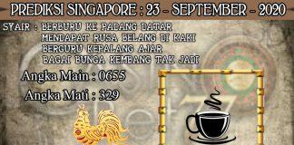 PREDIKSI TOGEL SINGAPORE HARI RABU 23 SEPTEMBER 2020